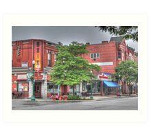 The Brix on Main Street - Cortland, NY Art Print