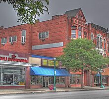 The Deli Downtown - Cortland, NY by Edith Reynolds
