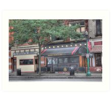 A Pizza & More - Cortland, NY Art Print