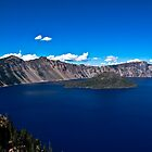 Crater Lake crater by vanishedtwin