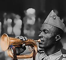 Belgian Musician - World War II -1943 by Robert Bertino