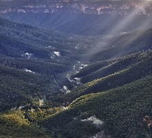 Evans Lookout, Blue Mountains NSW by Ian Berry