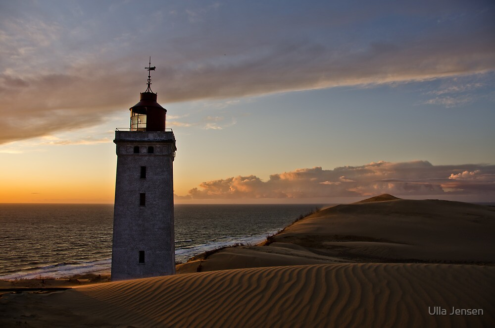 Portrait of a Lighthouse 2 by Ulla Jensen