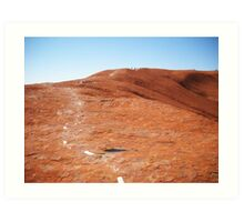 Path to the top Art Print