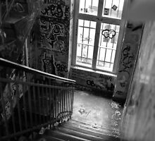 Graffiti staircase by Stefano Mattia