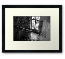 Graffiti staircase Framed Print