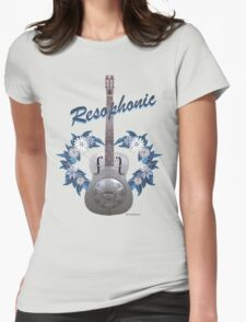 Resophonic Guitar 2 Womens Fitted T-Shirt