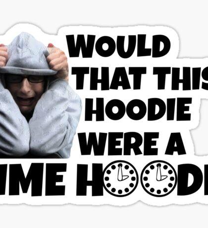 Time Hoodie Sticker