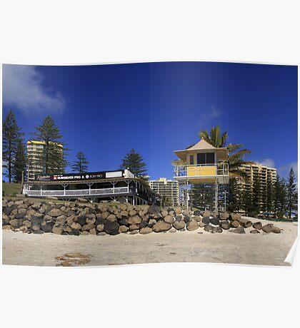 Rainbow Bay Surf Club Poster