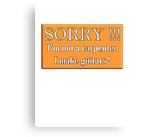 Cool sign Canvas Print
