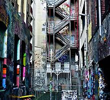 Melbourne Laneway by costagavras