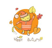 Happy autumn. Photographic Print