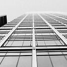 Looking up in London in B&W by avee