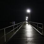 Shimmering jetty by Leoni South