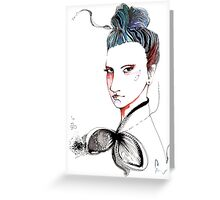 That look!  Greeting Card