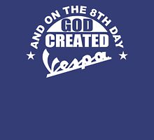 And On The 8th Day God Created Vespa Mod Moped Fan Hoodie