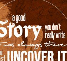 Varric - A Good Story Sticker