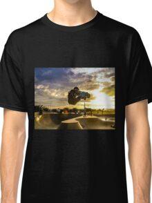 Skateboarder Jump Classic T-Shirt