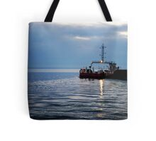 Leaving the Harbour Tote Bag