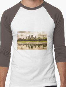 Angkor Wat Men's Baseball ¾ T-Shirt