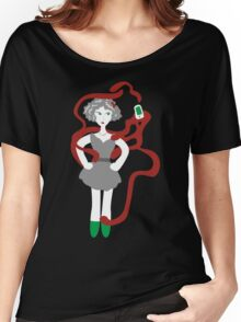 Socialmedia Lady - addiction Women's Relaxed Fit T-Shirt