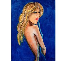 Bardot Azur Photographic Print