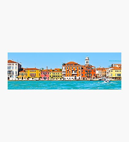 Canal Colours Photographic Print