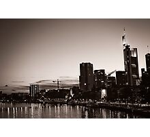 Frankfurt / Main - Skyline Photographic Print