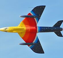 The Miss Demeanour Hawker Hunter - Southport Airshow 2011 by merlin676