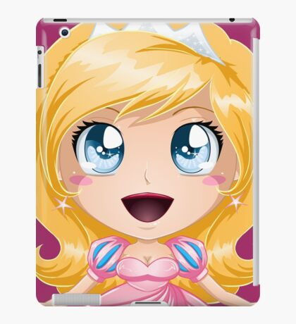 Blond Princess In Pink Dress iPad Case/Skin