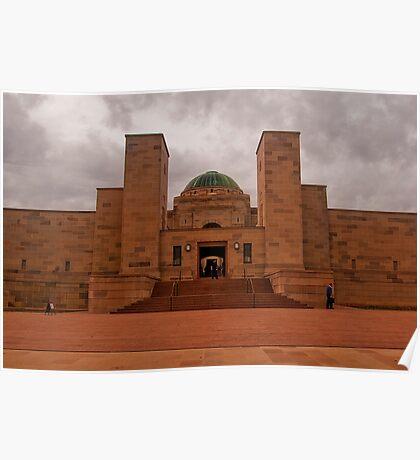 Canberra, War Memorial Entrance Poster
