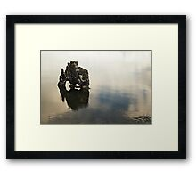 Giant Rock Framed Print