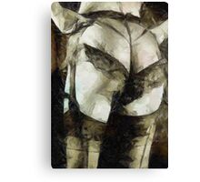 Knickers by Mary Bassett Canvas Print