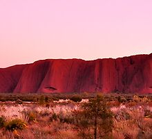 Ayers Rock Sunrise  by Karina  Cooper