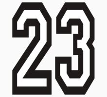 23, TEAM SPORTS, NUMBER 23, TWENTY, THREE, Competition,  by TOM HILL - Designer