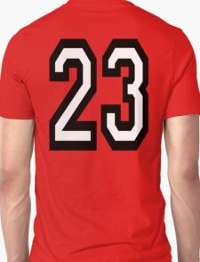 23, TEAM SPORTS, NUMBER 23, TWENTY, THREE, Competition,  T-Shirt
