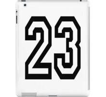 23, TEAM SPORTS, NUMBER 23, TWENTY, THREE, Competition,  iPad Case/Skin
