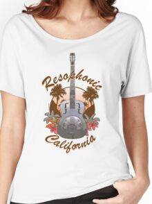 Resophonic  California (brown) Women's Relaxed Fit T-Shirt