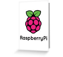 Raspberry pi Greeting Card