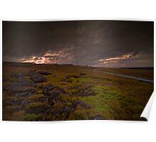 Cumbrian Moors Poster