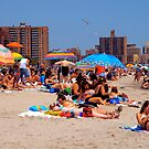 Coney Island Beach, NYC by RonnieGinnever