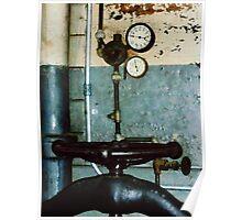 Gauges in Machine Shop Poster
