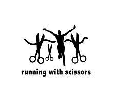 Running With Scissors Photographic Print