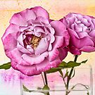 Roses Aquarelle by Leslie Nicole