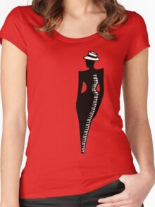 Femme piano Women's Fitted Scoop T-Shirt
