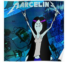 marceline rock vampire queen Poster