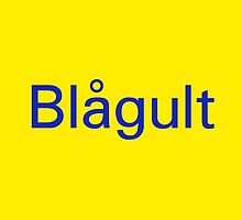 Blågult (The Blue-Yellow) - Sweden National Football Team by lovesports