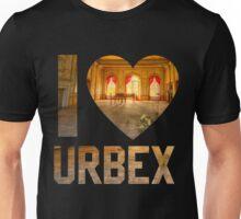 I LOVE URBEX Unisex T-Shirt
