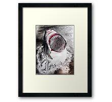SHARK!!!!! Framed Print