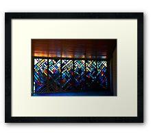 Colourful Cemetery Framed Print